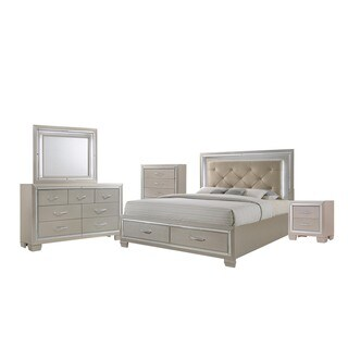 Silver Orchid Odette 5-piece Queen Bedroom Set