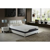 AC Pacific 12-inch Queen-size Hybrid Pocket Coil and Gel Memory Foam Mattress