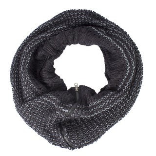 Warm Winter Women's Hand Knitted Cowl Infinity Scarf