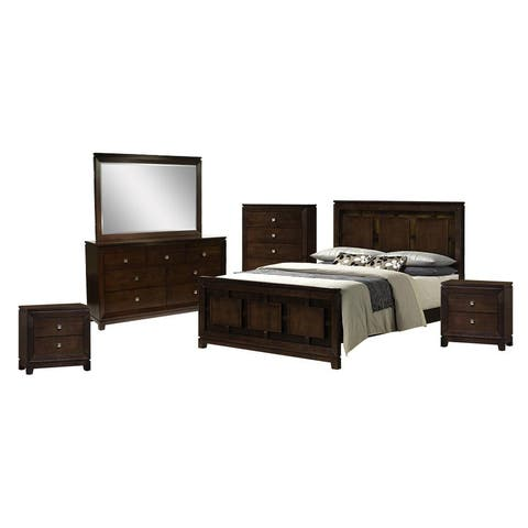 Picket House Furnishings Easton King Panel 6PC Bedroom Set