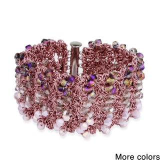 Saachi Crochet Beaded Bracelet (China)
