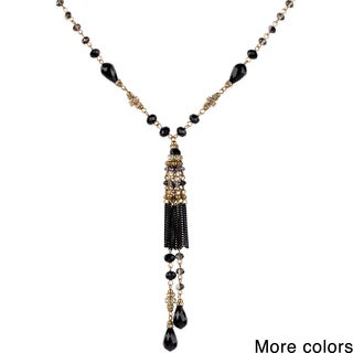 Handmade Saachi Chandelier Tassel Necklace (China)