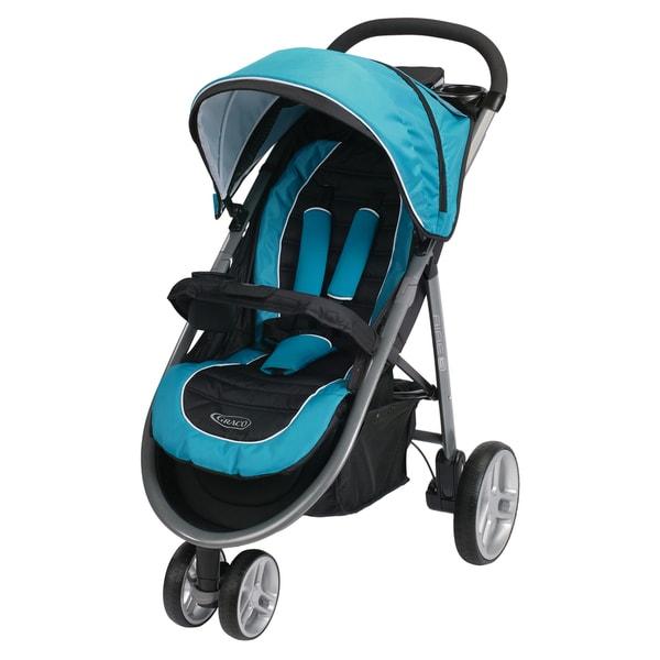 Graco Aire 3 Click Connect Poseidon Blue Stroller