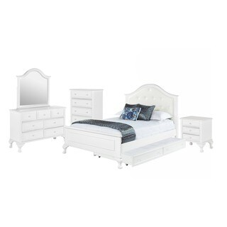 Picket House Furnishings Jenna Full Panel w/ Trundle 5PC Bedroom Set