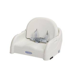 Graco White Toddler Booster Seat