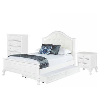 Picket House Furnishings Jenna Full Panel w  Trundle 3PC Bedroom Set. Trundle Bed Bedroom Furniture For Less   Overstock com