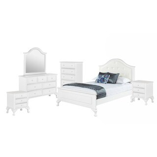 Picket House Furnishings Jenna Full Panel 6PC Bedroom Set