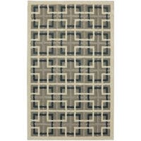 Mohawk Home Loft Square Off Lt Grey Area Rug (8' x 10') - 8' x 10'