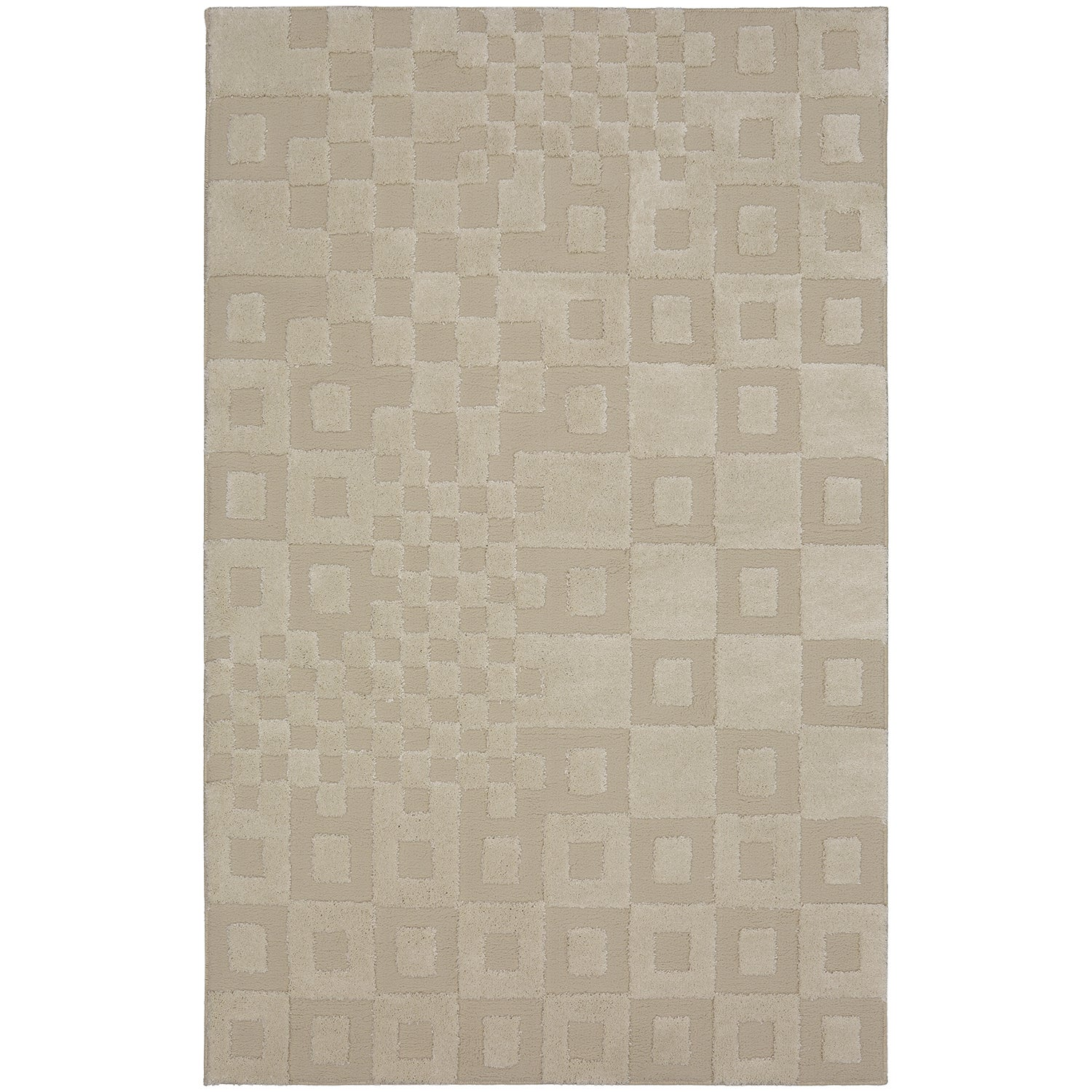 MOHAWK Home Loft Tile Time Cream (Ivory) Area Rug (5' x 8...