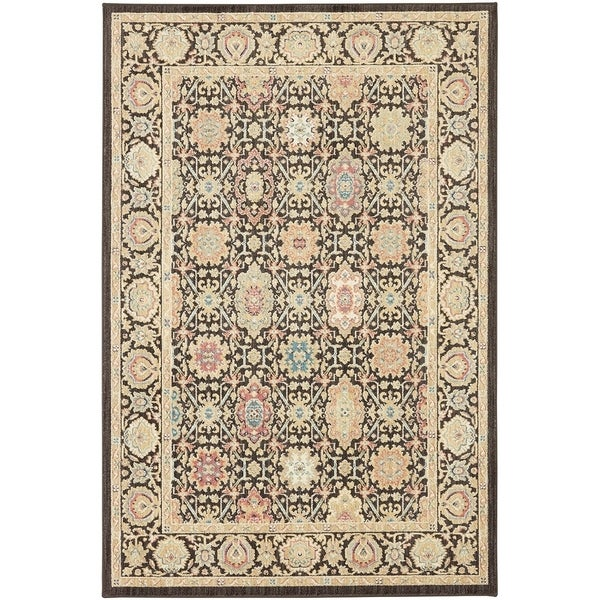 Mohawk Home Studio Mechi Black Area Rug (5'3 x 7'10) - 5'3 x 7'10