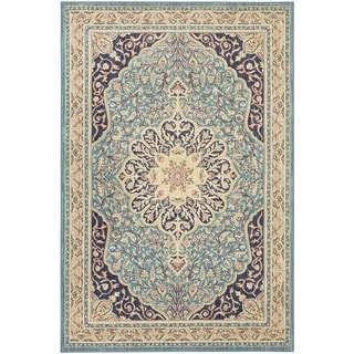 Mohawk Home Studio Gallatin Blue Area Rug (5'3 x 7'10)