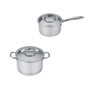 Berghoff CollectNCook Stainless Steel 4-piece Cookware Set