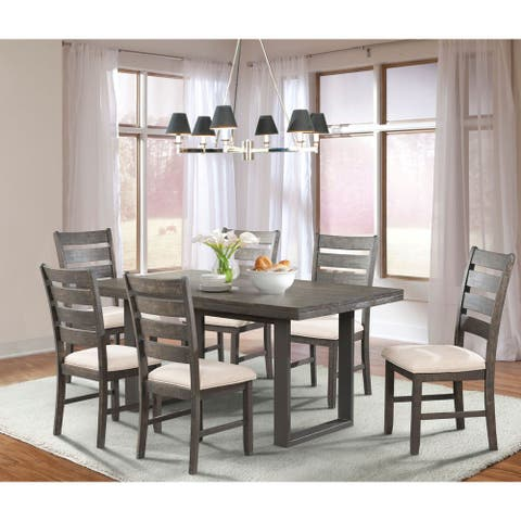 Picket House Furnishings Sullivan 7PC Dining Set- Table & 6 Dining Chairs