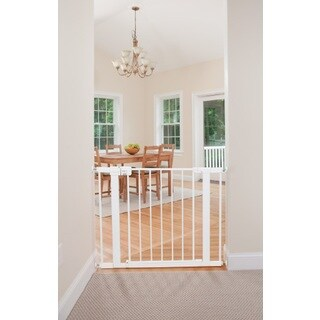 Safety 1st White Metal Easy-install Walk-through Baby Gate (Pack of 2)