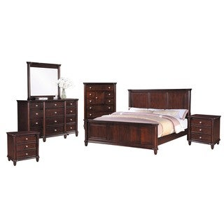 Picket House Furnishings Gavin King Panel 6PC Bedroom Set