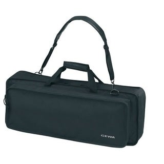 Gewa Black Cordura Basic Keyboar Gig Bag (Size J)