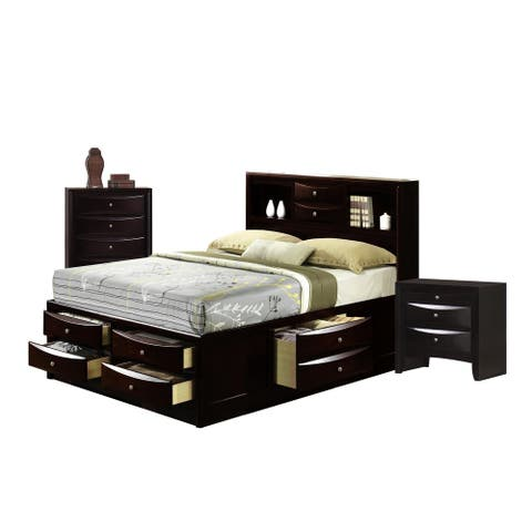 Picket House Furnishings Madison Queen Storage 3PC Bedroom Set