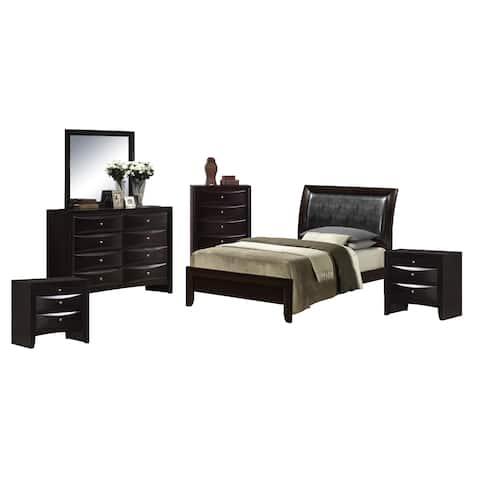 Picket House Furnishings Madison Twin Panel 6PC Bedroom Set