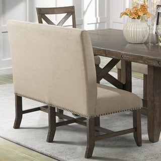 Link to Picket House Furnishings Francis Upholstered Dining Bench Similar Items in Kitchen & Dining Room Chairs