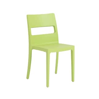 Euro Style Sai Light Green 6-piece Stacking Chair Set