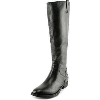 Steve Madden Women's Arries Wide Calf Leather Boots