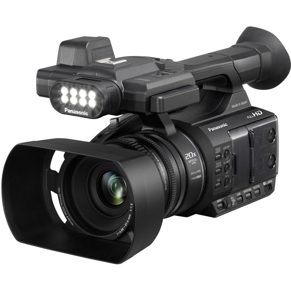 "Panasonic AG-AC30 Digital Camcorder - 3"" - Touchscreen LC..."