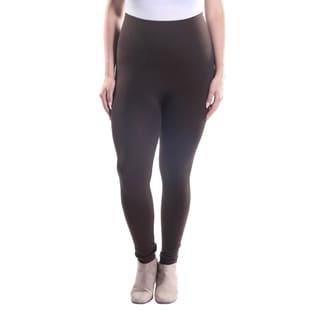 Hadari Women's Plus Size High Waisted Ankle Length Leggings