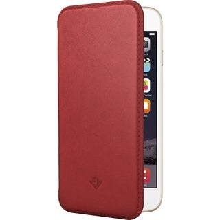 Twelve South SurfacePad for iPhone 6/6s, red Ultra-slim luxury leat
