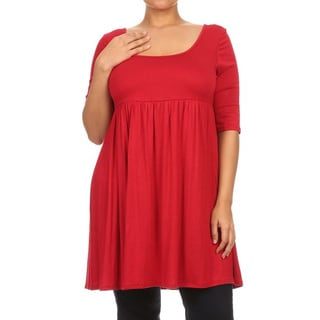 Women's Plus Size Empire Dress