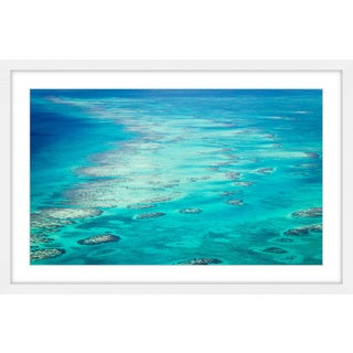 Marmont Hill - 'Ocean Rocks' Framed Painting Print - Multi