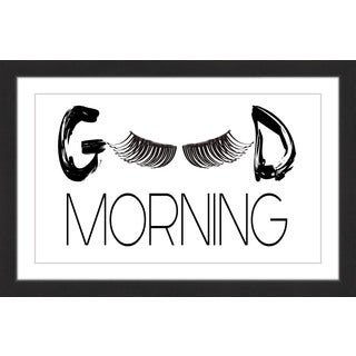 Marmont Hill - 'Morning Lashes' by Diana Alcala Framed Painting Print