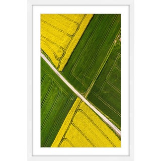 Marmont Hill - 'Through the Fields' Framed Painting Print