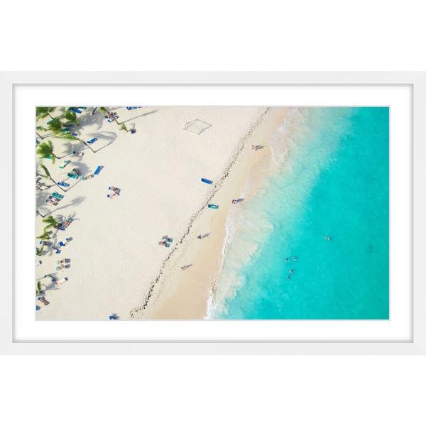 Marmont Hill - Handmade Shoreline Framed Print. Opens flyout.