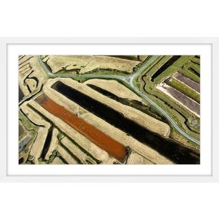 Marmont Hill - 'Green Paths' Framed Painting Print