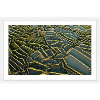 Marmont Hill - 'Waterways' Framed Painting Print