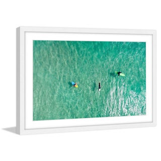 Marmont Hill - 'Calm Waters' by Karolis Janulis Framed Painting Print - Multi