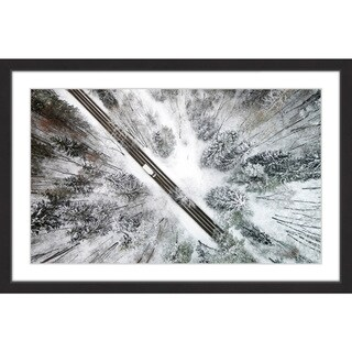 Marmont Hill - Handmade Icy Forest Framed Print