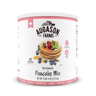 Augason Farms Buttermilk Pancake Mix 52 oz #10 Can