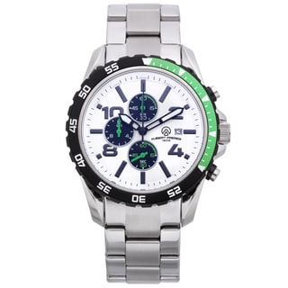 Aubert Freres Robuchon, Men's chronograph sport watch, 44mm case, 316L stainless steel