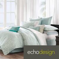 Echo Design Mykonos 300 Thread Count Cotton 3-piece Comforter Set King Size (As Is Item)