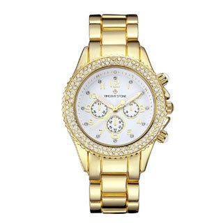 Timothy Stone Women's Amber Rose Gold-Tone Watch