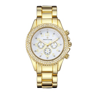 Timothy Stone Women's Amber Gold-Tone Watch