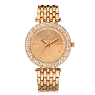 Timothy Stone Women's Burst Rose Gold-Tone Watch