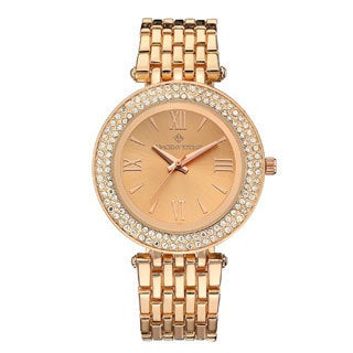 Timothy Stone Women's Burst Bicolor Rose Gold/Silver-Tone Watch