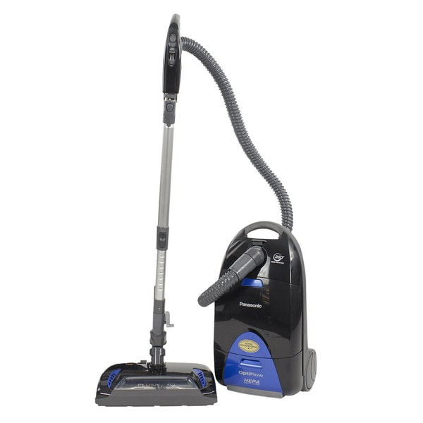 Panasonic Performance Platinum Plush Pro Canister Vacuum