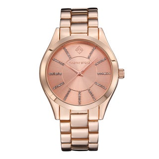 Timothy Stone Women's Charme Rose Gold-Tone Watch