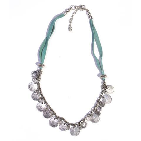 Handmade Turquoise Market Necklace (India)