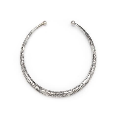 Handmade Selene Collar Necklace (India)