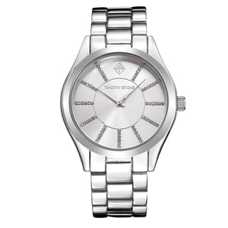 Timothy Stone Women's Charme Silver-Tone Watch