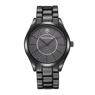 Timothy Stone Women's Charme Faux Ceramic Black Watch